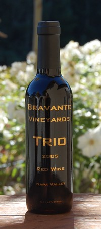 2007 Napa Valley Trio Half-bottles
